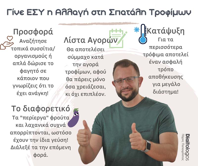 Spatali Trofimon Diaitologos